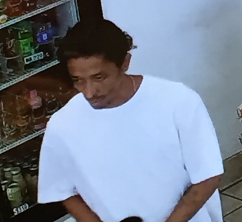 Suspect who allegedly robbed auto shop