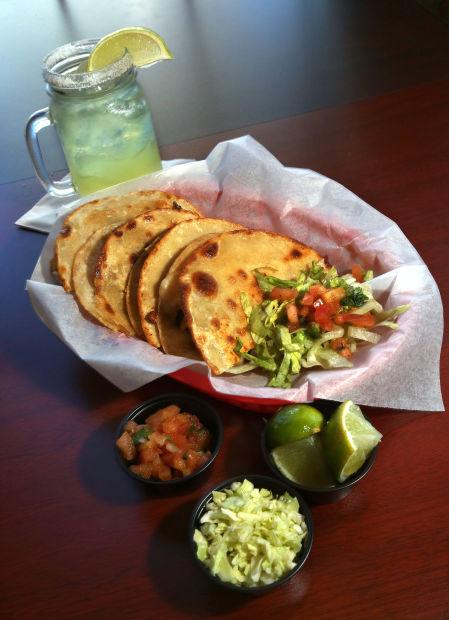 Manchego quesadillas at Calle Tepa