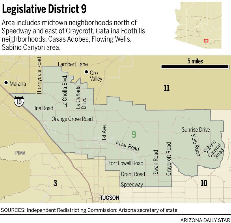 Map Of Arizona Legislative Districts.Legislative District 9 Map Tucson Com