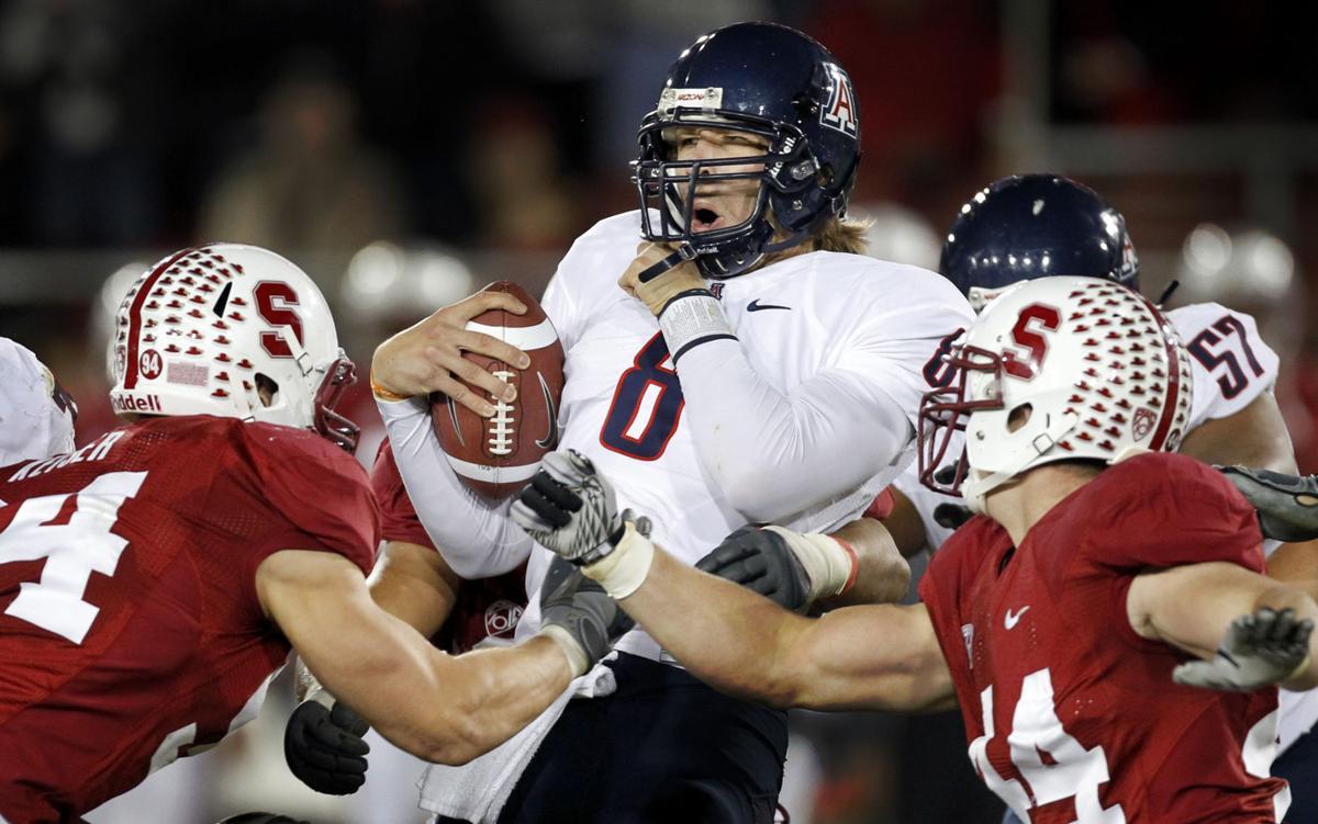 huge discount 1d5b1 aee70 Photos: Arizona Wildcats quarterback Nick Foles, 2009-11 ...