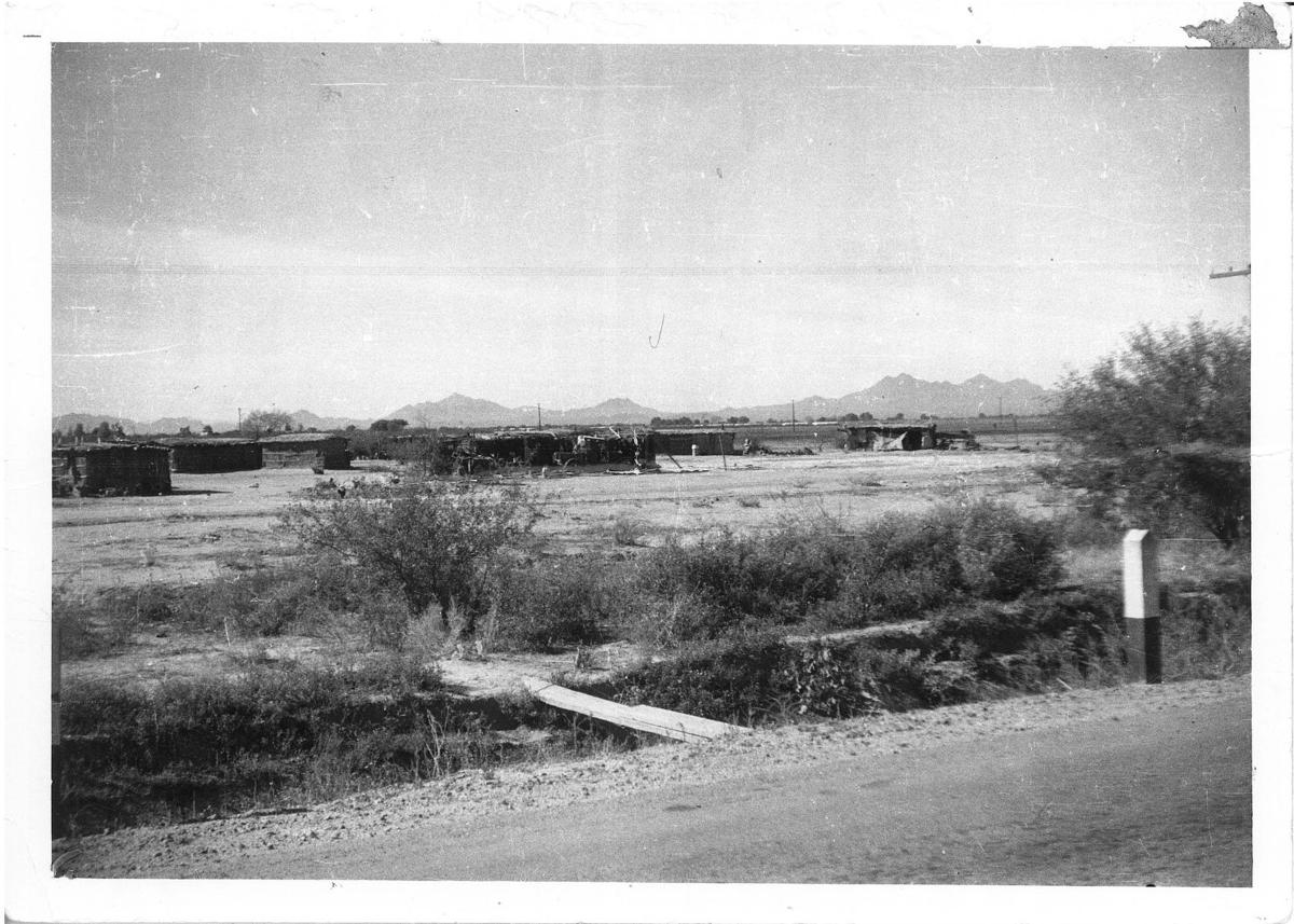The Ili Hu'upa village in 1936
