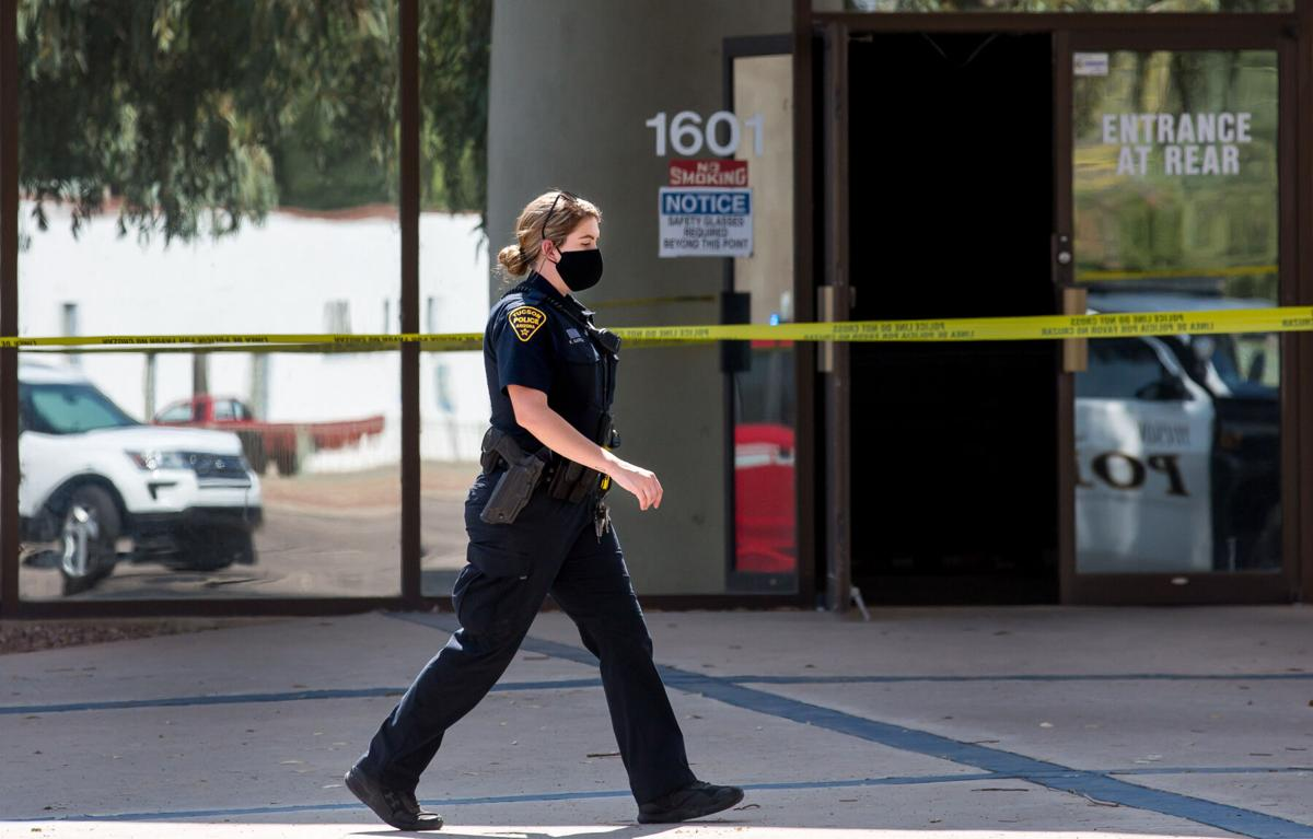 Tucson Fire: One man killed, one injured in wall collapse at engineering firm
