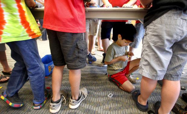 Lego Club assembles for summer