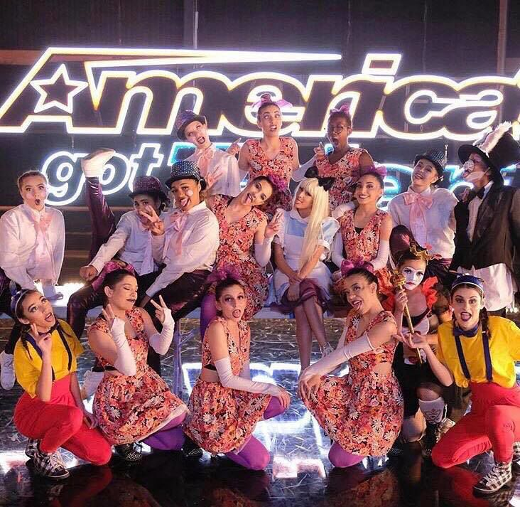 PAC dance team on America's got talent