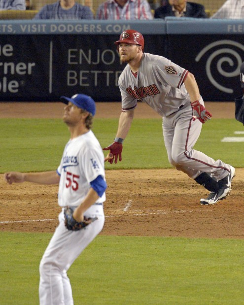 Diamondbacks 4, Dodgers 3: Kubel's HR provides 8th straight win vs. LA