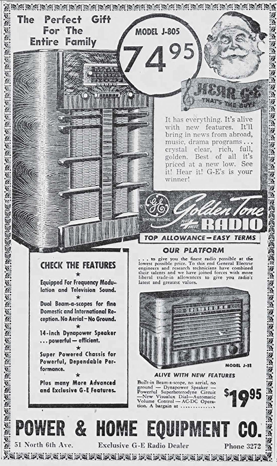A Look Back At Vintage Christmas Ads That Ran In The Arizona Daily Automatic Volume Control Circuit Star
