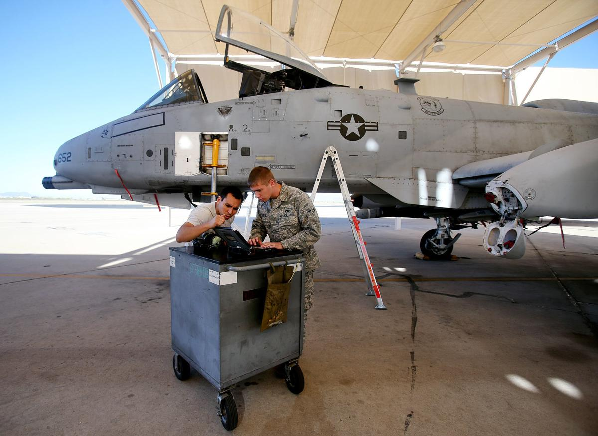 A-10 Thunderbolt II at Davis-Monthan AFB
