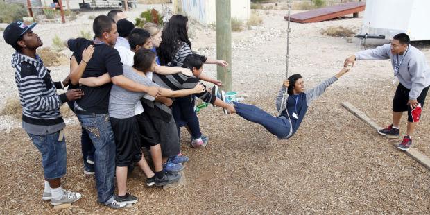 Photos Pima County 4 H High Ropes Course Local News