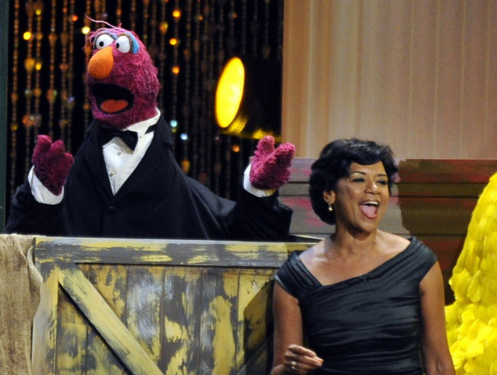 Sonia Manzano, who played Maria on 'Sesame Street' at Tucson Festival of Books