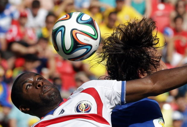 Brazil Soccer WCup Italy Costa Rica