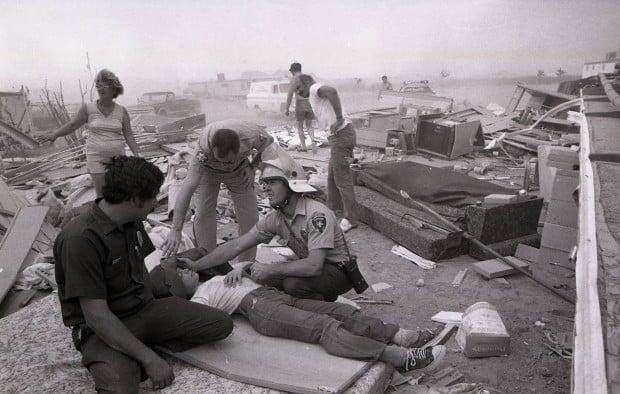 June 23, 1974: An F1 tornado kills one person outside Tucson