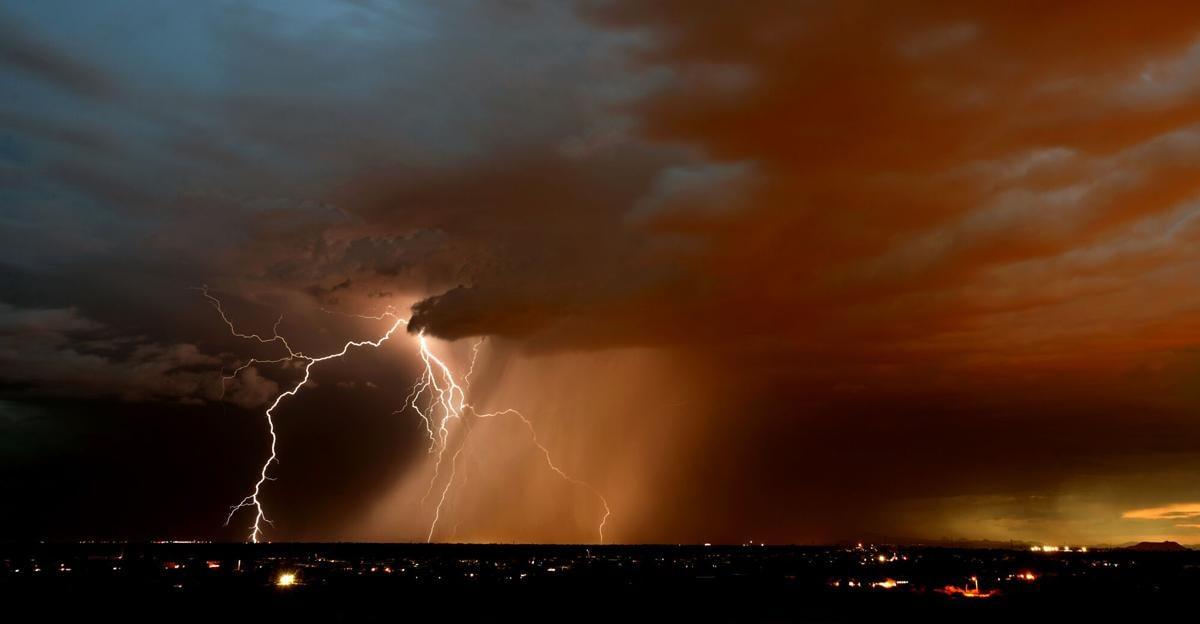 Monsoon lightning 2021