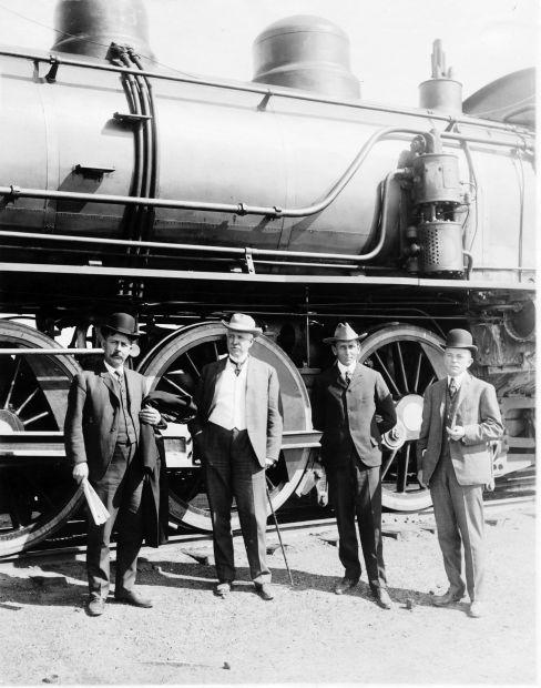Men of railroading
