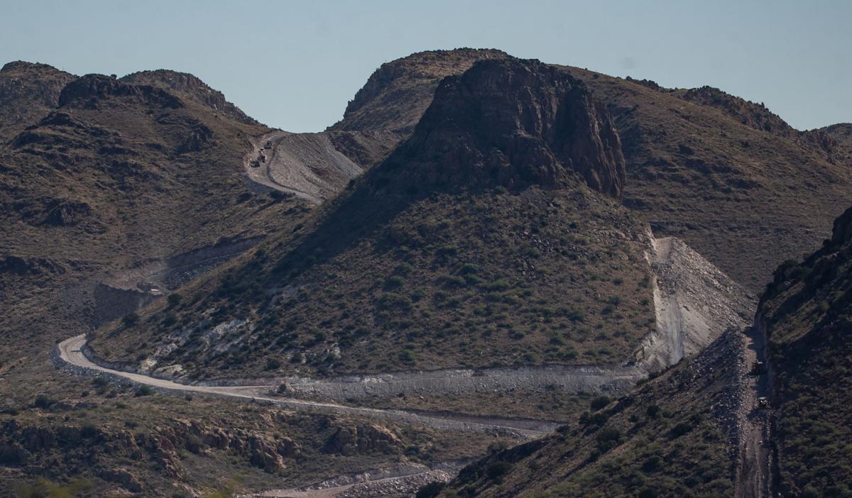 Border Wall, Arizona-Mexico border