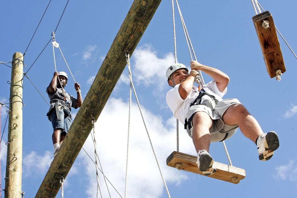 4-H High Ropes course