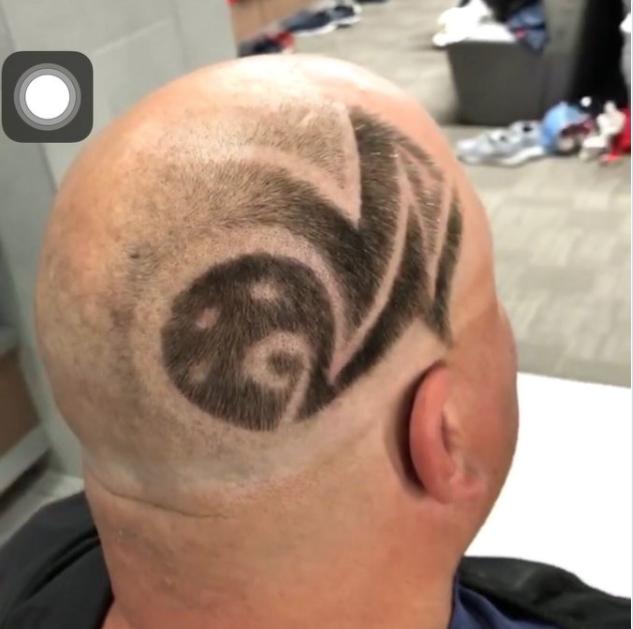 Rod Smith's new hair