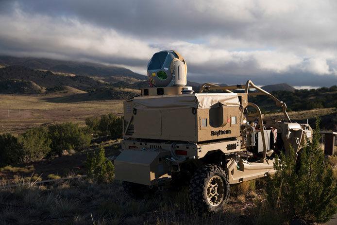 Raytheon laser system