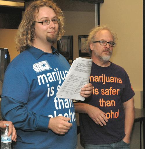 New marijuana initiative
