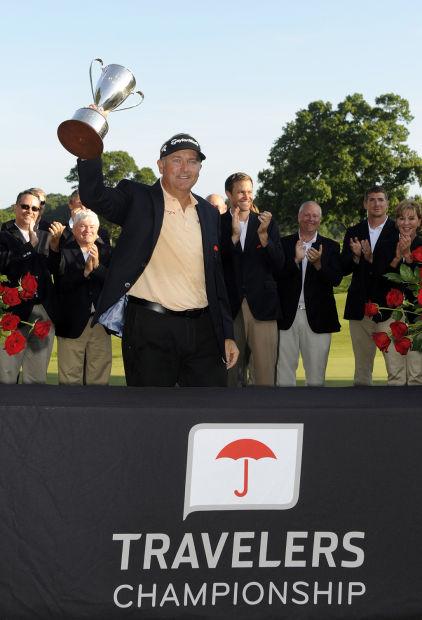 Golf: Journeyman Duke wins playoff for 1st title