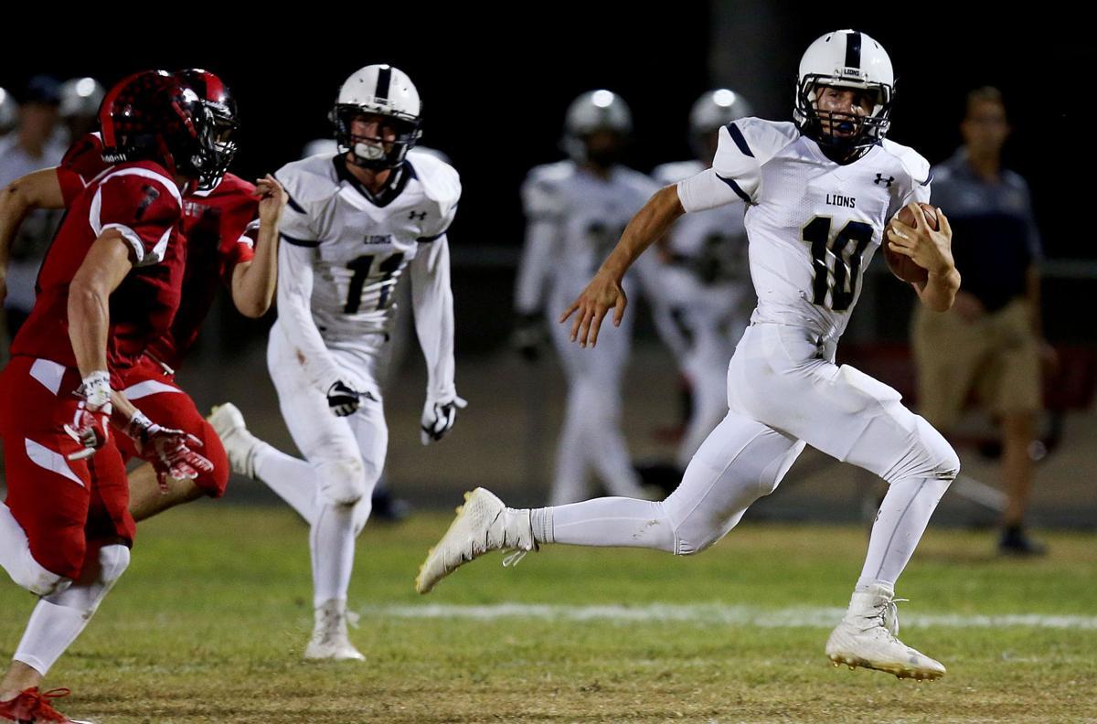 Pusch Ridge Christian vs. Empire high school football