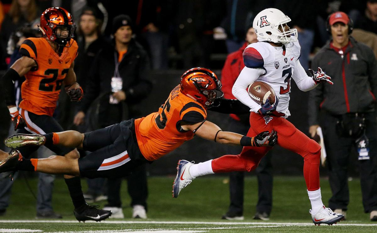 Arizona Wildcats vs. Oregon State Beavers college football