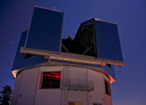 First science from Arizona's newest telescope