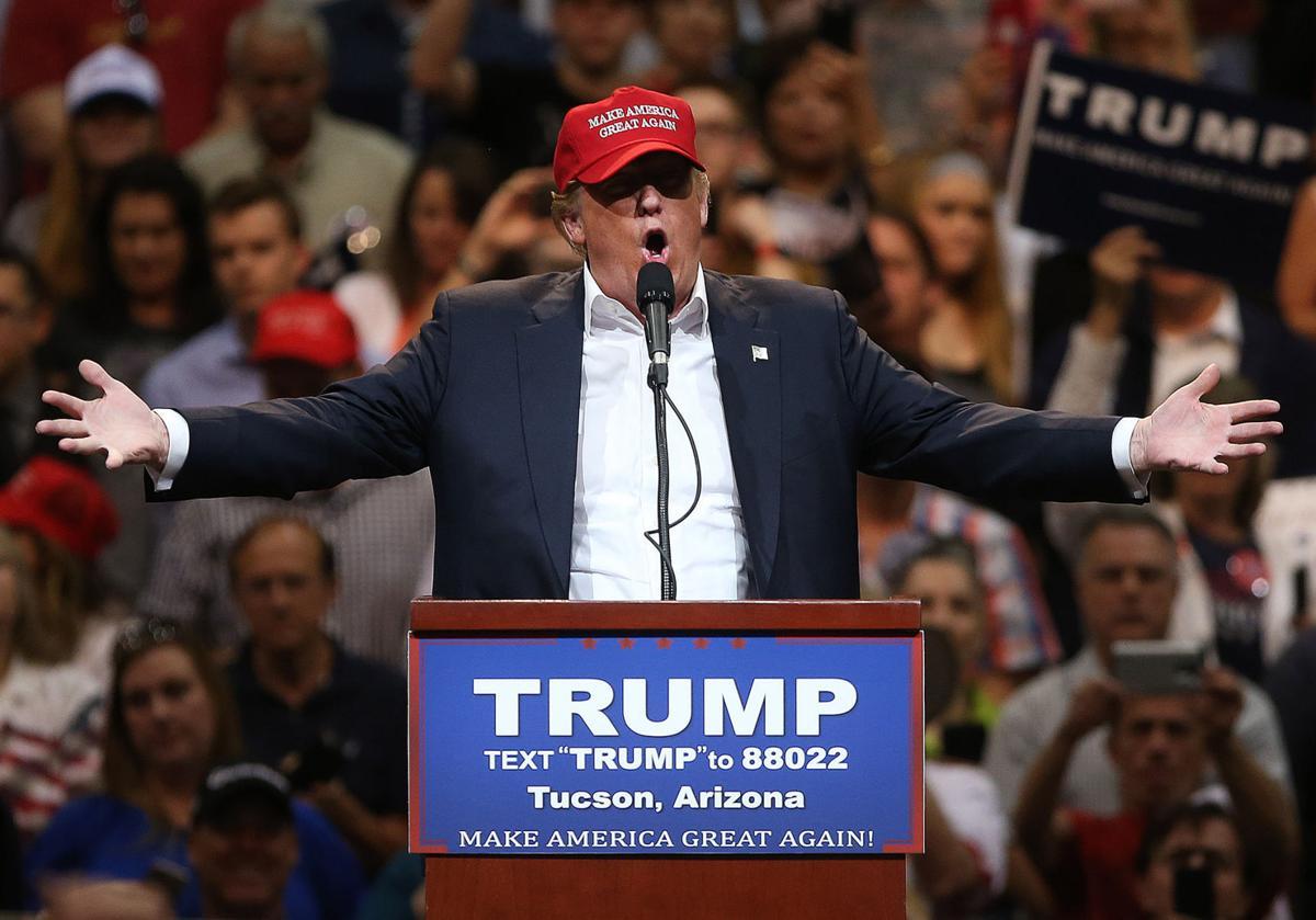 Donald Trump in Tucson