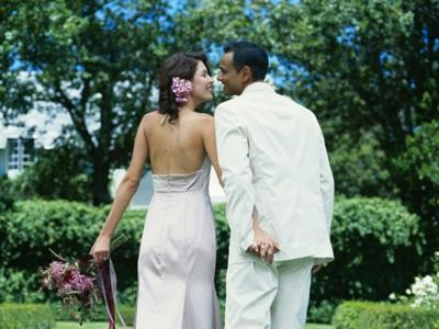 A wedding right in your backyard