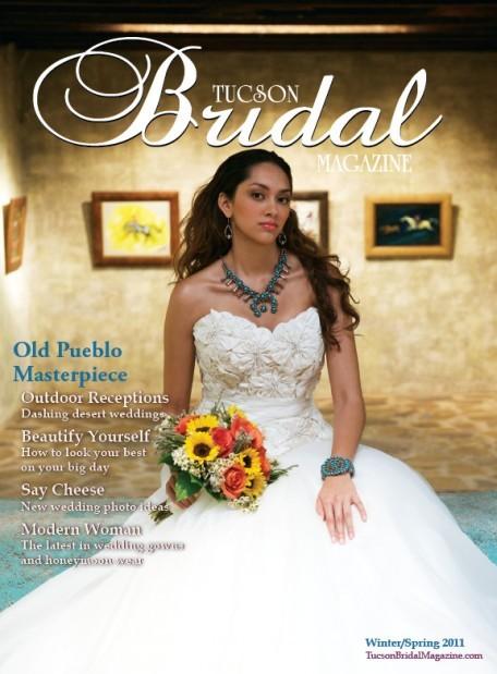 Tucson Bridal Magazine Cover | | tucsonbridalexpo.com