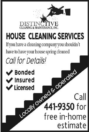 DISTINCTIVE Cleaning & Maintenance