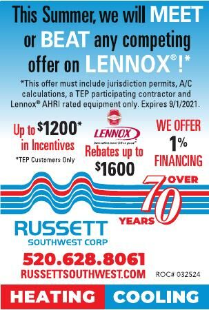 Russett Southwest Corp HEATING / COOLING
