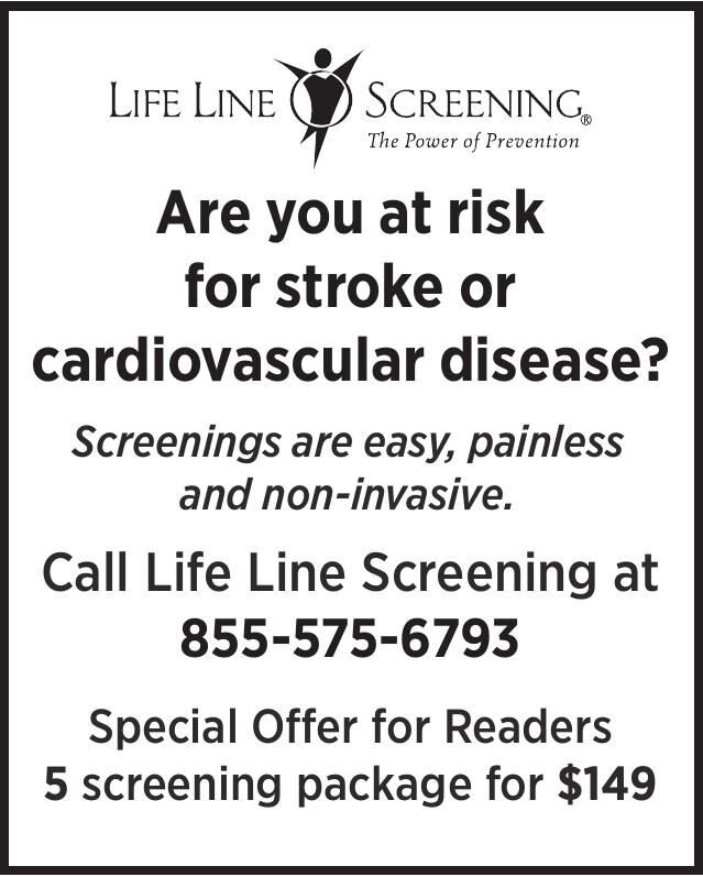 Are you at risk for stroke or cardiovascular disease?
