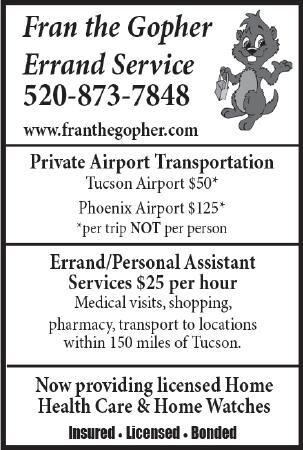 Fran the Gopher Errand Service