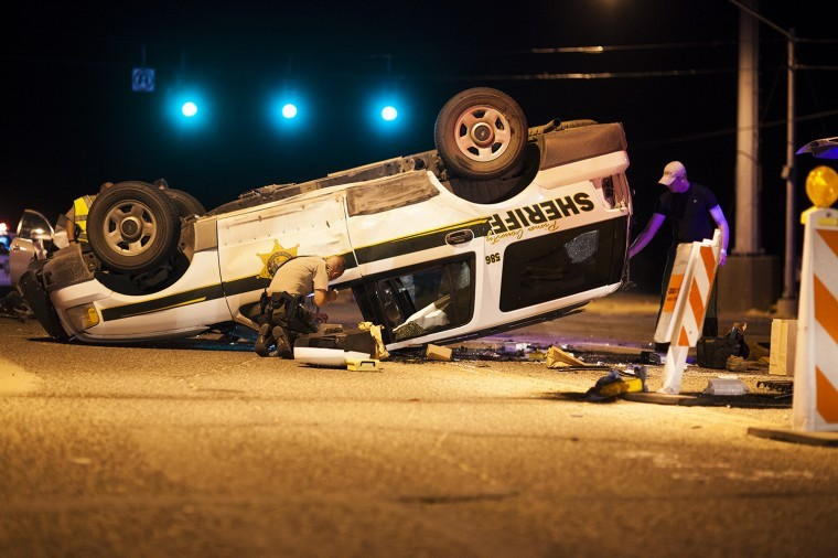 Pima County Sheriff deputy involved crash