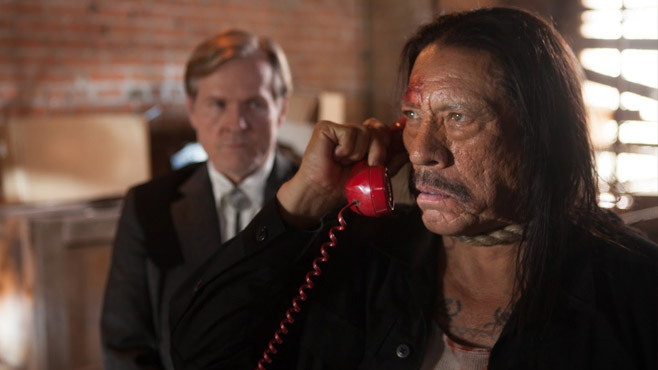 Machete don't do interviews, but Danny Trejo does