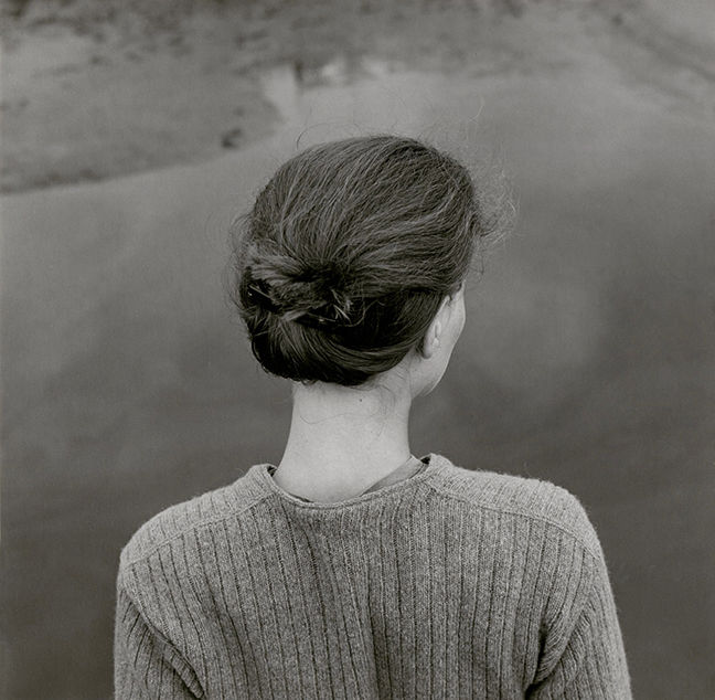"""Edith, Chincoteague, Virginia,"" by Emmet Gowin"