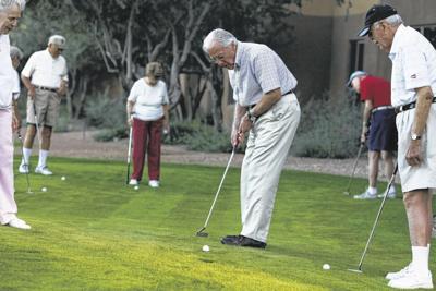 Golfing at Splendido