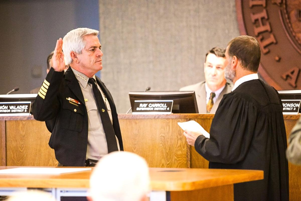 Nanos sworn in as new sheriff | Features ...