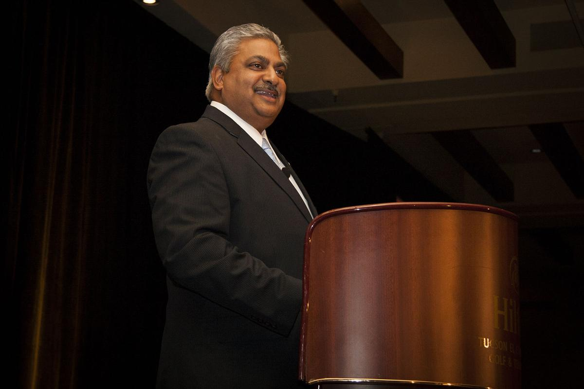 Mayor Satish Hiremath