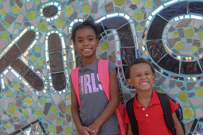 Londyn Mike and Karter at Estes Elementary