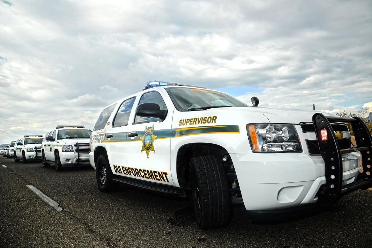 Pima County Sheriff DUI vehicles