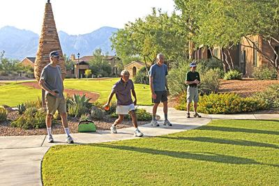 Aging Well: Bocce Ball
