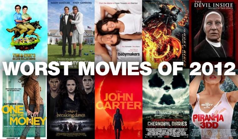 Worst Movies of 2012