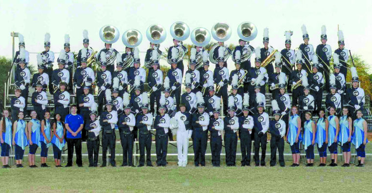 Nighthawk band marches at Holiday Bowl