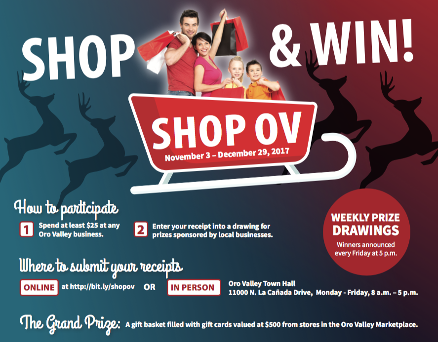 Engage the holidays and local businesses with Shop OV | News ...