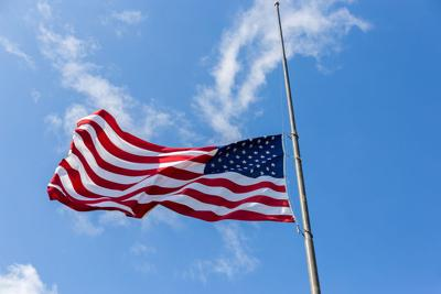 Reminder: Flags ordered at half-staff on Sept  11 | Desert