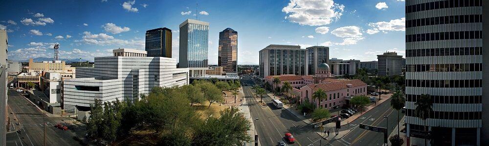 Downtown Tucson Panorama