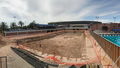 UA athletic director tours facility renovations at Arizona Stadium