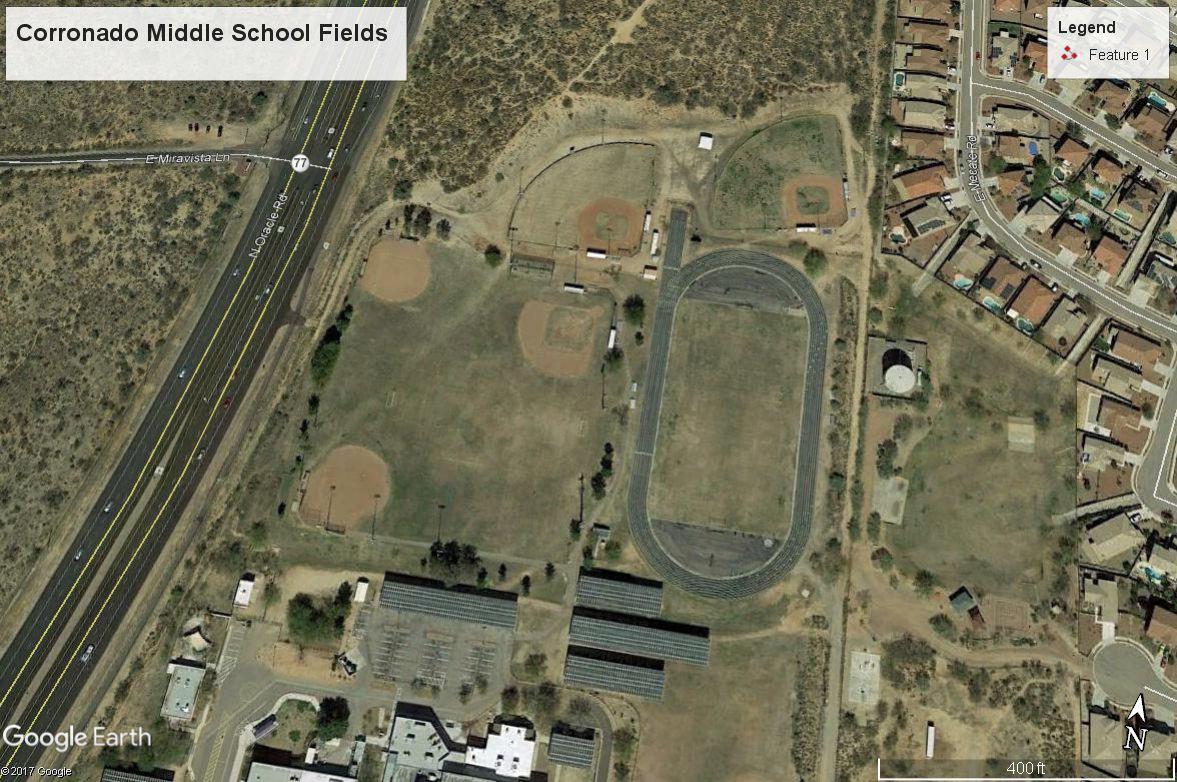 Corronado Middle School Fields
