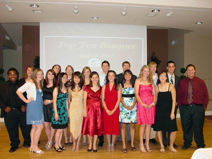 Marana students honored at banquet